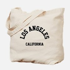Los Angeles California (Black) Tote Bag