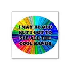 All The Cool Bands Sticker
