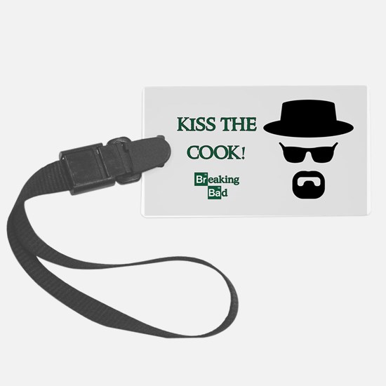 BREAKINGBAD KISS THE COOK Luggage Tag