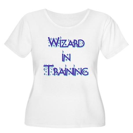 Wizard in Training 1 Women's Plus Size Scoop Neck