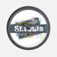 St. Louis Design Wall Clock