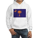 Orange and Purple SC Flag Hooded Sweatshirt