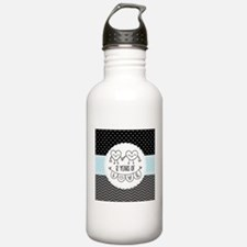 12th Anniversary Gift Water Bottle