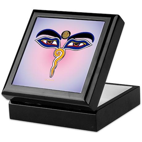 Buddha Eyes 2 Keepsake Box