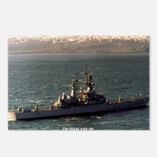 USS TEXAS Postcards (Package of 8)