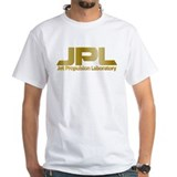 Jpl Mens Classic White T-Shirts