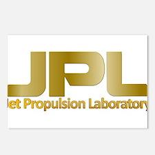 JPL Logo Postcards (Package of 8)