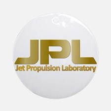 Nasa's Jpl Round Ornament