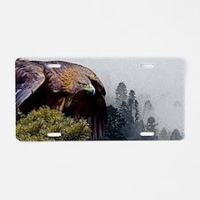 Cute Eagle Aluminum License Plate