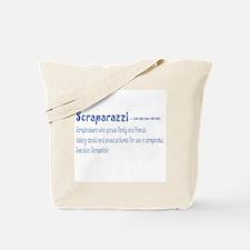 Front Center Design Only Tote Bag