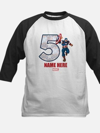 Avengers Captain America Age Kids Baseball Jersey