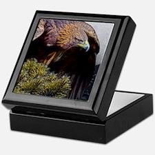 Golden Eagle Keepsake Box