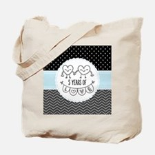 5th Anniversary Gift For Her Tote Bag