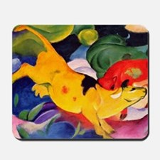 Yellow Cow Mousepad