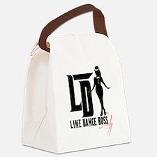 Cute Line Canvas Lunch Bag