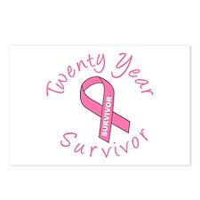 Twenty Year Survivor Postcards (Package of 8)