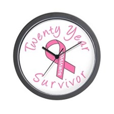 Twenty Year Survivor Wall Clock