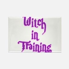 Witch in Training 2 Rectangle Magnet