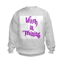 Witch in Training 2 Sweatshirt