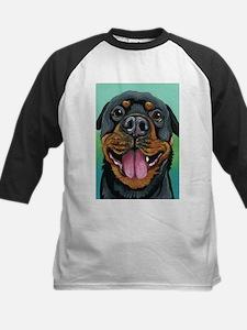 Rottweiler Dog Baseball Jersey