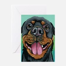 Rottweiler Dog Greeting Cards