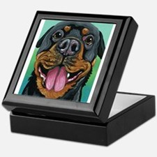 Rottweiler Dog Keepsake Box