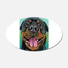 Rottweiler Dog Decal Wall Sticker