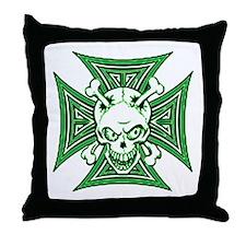 The Haunted Dead III Throw Pillow