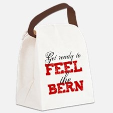 Cute Voting humor Canvas Lunch Bag