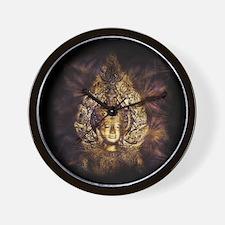 Funny Buddhism symbol Wall Clock