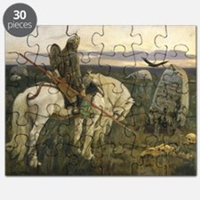 The knight at the crossroads Puzzle
