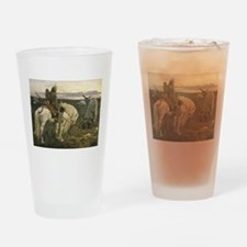 The knight at the crossroads Drinking Glass