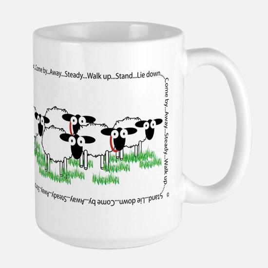 Working Border Collie & Sheep Mugs