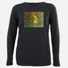 Sunset Woods Plus Size Long Sleeve Tee