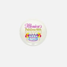 SNAZZY 60TH DIVA Mini Button (10 pack)