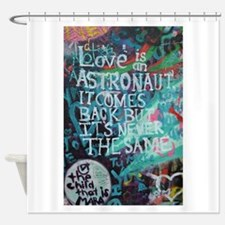 Funny Wall street Shower Curtain