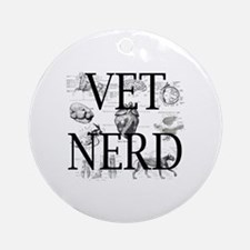 Cute Certified veterinary technician Round Ornament