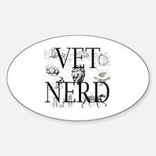 Cute Certified veterinary technician Sticker (Oval)