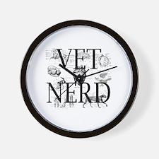 Cute Veterinary nurse Wall Clock