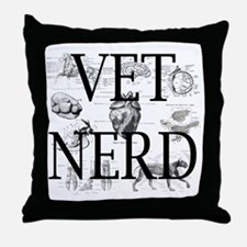 Cute Veterinary nurse Throw Pillow