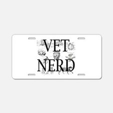 Cute Veterinary nurse Aluminum License Plate