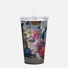 Cool The grey lady Acrylic Double-wall Tumbler