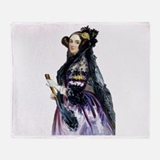 ada lovelace Throw Blanket