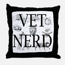 Veterinary nurse Throw Pillow