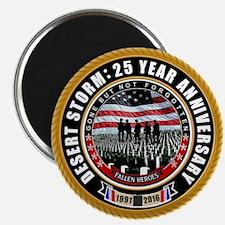 Desert Storm 25 Magnets