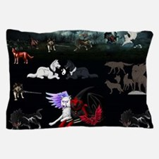Dark Wolves Pillow Case