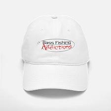 Bass Fishing Addictions Baseball Baseball Cap