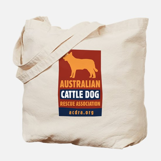 Funny Cattle dog rescue Tote Bag