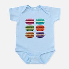 rainbow macarons Body Suit