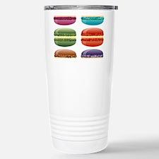 rainbow macarons Stainless Steel Travel Mug